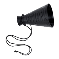 Black Movie Director Megaphone