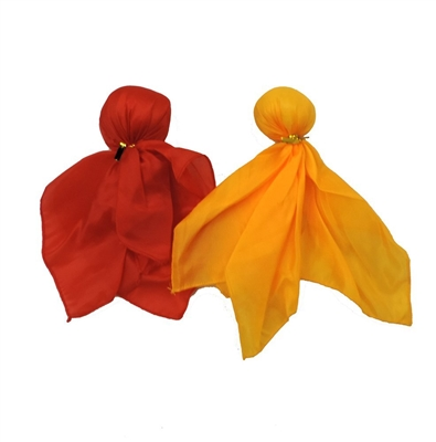Red & Yellow Penalty & Challenge Flag Sports Fan Set
