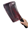 Giant Plastic Bloody Butcher Knife Cleaver Prop