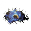 Removable 3D Outer Space Planet Stars Wall Door Cling Decal