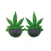 Marijuana Pot Leaf Novelty Sunglasses