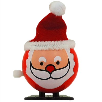 Santa Wind Up Jumping Christmas St Nick
