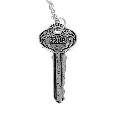 221B Key Necklace