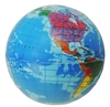 Earth Globe Squeeze Toy Stress Ball