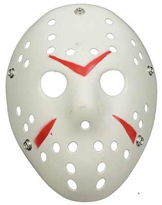 Scary Hockey Goalie Mask