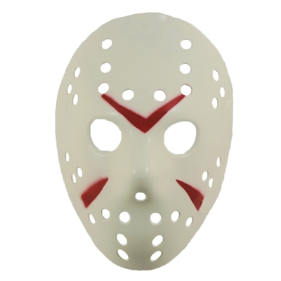 Scary Horror Movie Hockey Goalie Halloween Mask