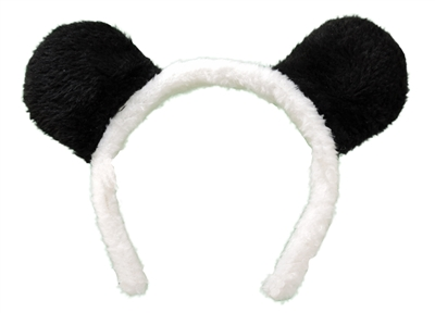 Novelty Giant Childrens Kids Panda Bear Ears Dress-Up Headband