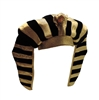 Egyptian Pharaoh King Tut Crown Plush Hat