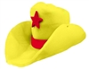 Novelty Giant Foam Cowboy Hat Yellow