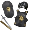 Black Gladiator Armor Set