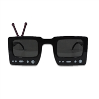 Novelty Giant TV Shape Party Sunglasses
