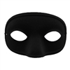 Novelty Giant Black Super Hero or Villian Bandit Eye Mask