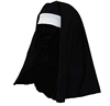 Black and White Catholic Church Novelty Nun Hat