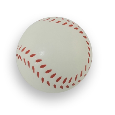 Stress Relief Squeezable Foam Baseball