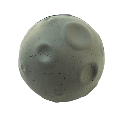 Stress Relief Squeezable Foam Grey Moon