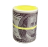 Stress Money Wad Relief Squeezable Foam Roll of $100 Dollar Bill