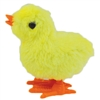Wind Up Jumping Chicken Easter Egg Yellow Baby Chick 3 Pk