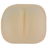 Molded Butt Cheeks Novelty Foam Costume Accessory Adult Size