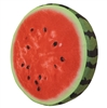 Watermelon Slice Realistic Soft Velvet Foam Pillow