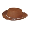 Children's Western Woody Style Kids Cowboy Ranch Hat Brown