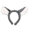 Koala Bear Ears Headband for Animal Costumes Grey & White