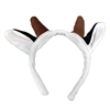 Child's Plush Cow Ear Soft Headband