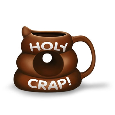Holy Crap! Poo Shaped Mug