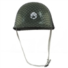 Childs Green Army Soldier Combat Costume Helmet