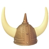 Viking Helmet Costume Hat with Horns