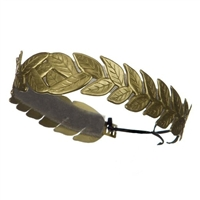 Gold Roman Laurel Leaf Headband