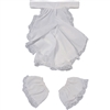 Jabot & Cuffs Lace Colonial Costume Set